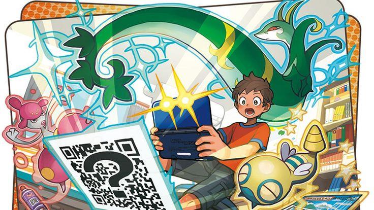 Completa la Pokedex en Pokemon Sun/Moon con la ayuda de estos QR codes.