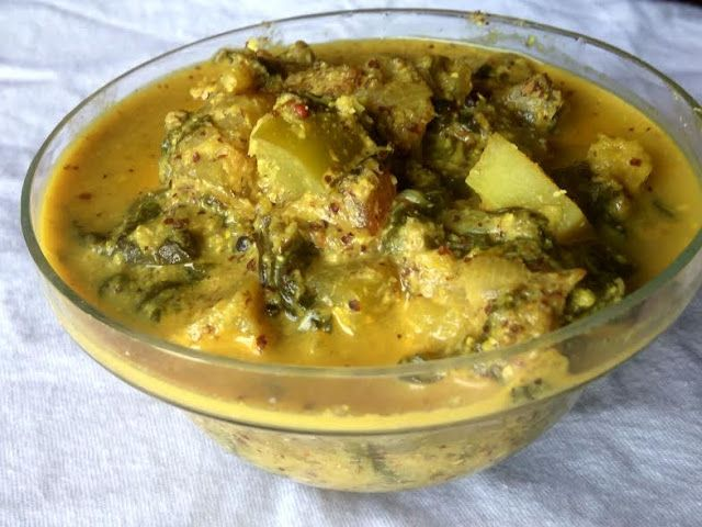 Mercury Information Management Platform: Spicy Yummy Odiya Palanga (Palak) Besara (Vegetables in Mustard Gravy)
