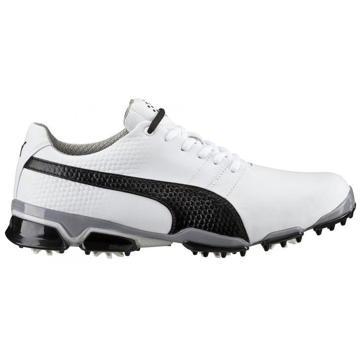Puma Titantour Ignite 188656-03 White/Black Men's Golf Shoe from @golfskipin