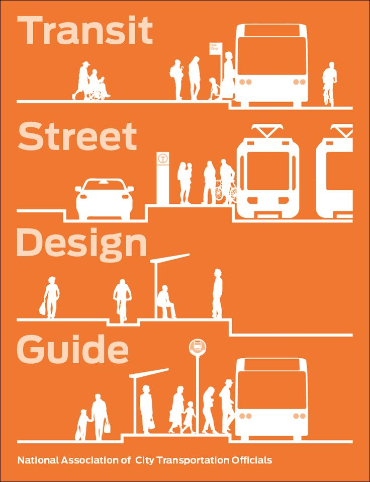 The Transit Street Design Guide provides design guidance for the development of transit facilities on city streets, and for the design and engineering of city streets to prioritize transit, improve transit service quality, and support other goals related to transit