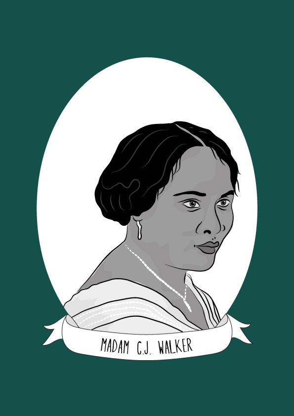 """Madam C.J Walker was a civil rights activist, philanthropist and entrepreneur. She was named """"the first black woman millionaire in America"""" for her successful line of hair care products. Walker was the first free child born to her parents Owen and..."""