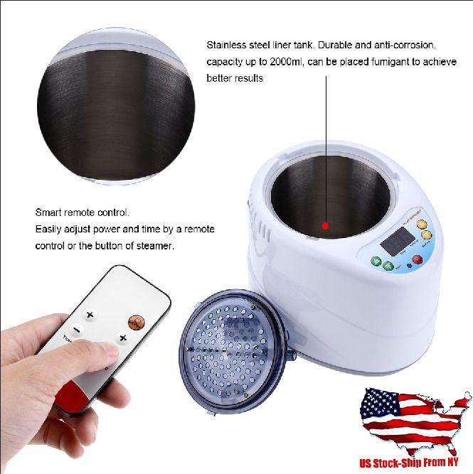 Details About Fumigation Spa Machine Steam Generator For Tent Body Therapy Home 2l Steam Generator