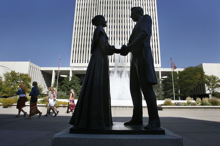 Joseph Smith, Mormon Church founder, had as many as 40 wives