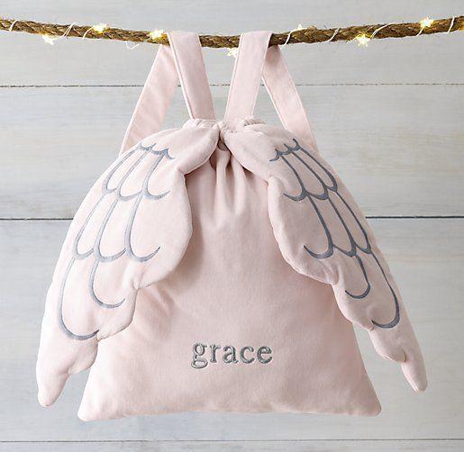 Mochila bolso c alas de ángel