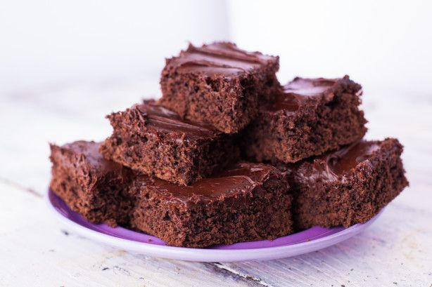 These are similar to a packaged  brownie mix, they have a great brownie texture and take only minutes to make, just dump everything in a bowl, mix and bake! If desired frost with my recipe#89207