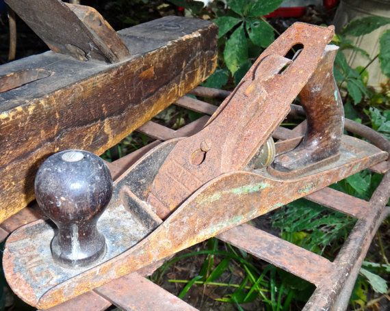Wood Plane Stanley Bailey Number 5 Wood Plane by MaxsUniquities
