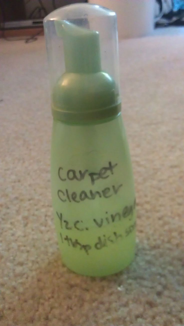 Carpet Cleaner In Foaming Bottle Lol This Is Great I