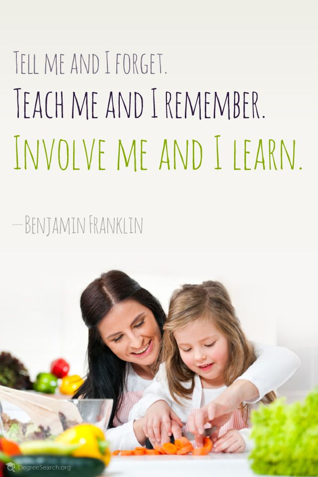 : Words Of Wisdom, Good Quotes, Daughters Cooking, Education Teaching Quotes, Parents Involvement, Favourit Quotes, Franklin Quotes, Involvement Me 640X960, Educationteach Quotes
