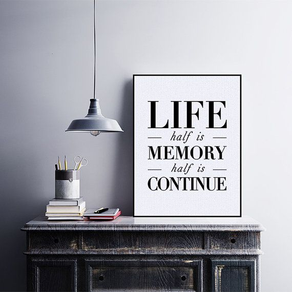 Freeshipping Black White Minimalist Motivational Typography Life Quotes A4 Art Print Poster Wall Art Living Room Decor Canvas Painting by PicSaying