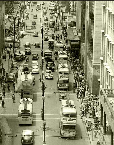 Blast from the past – Darling Street circa 1950!