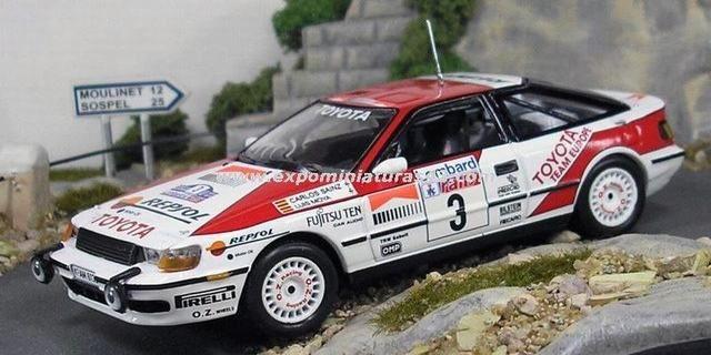 Lombard RAC Rally 1989 Toyota Celica GT-Four (ST165) Sainz/Moya 1/43