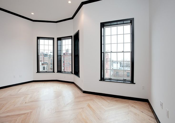 White Walls With Black Trim Less House More Home