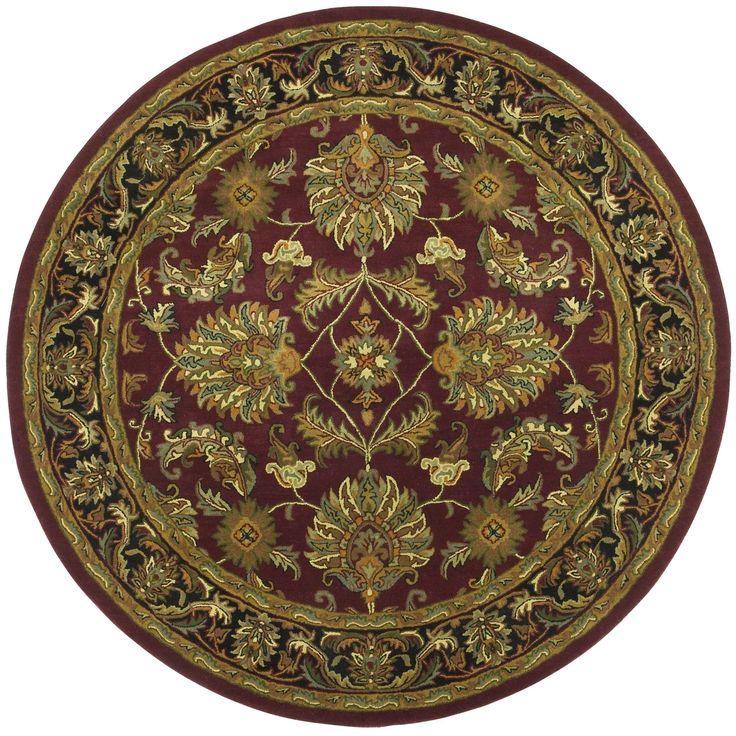 Traditions Agra Burgundy Rug