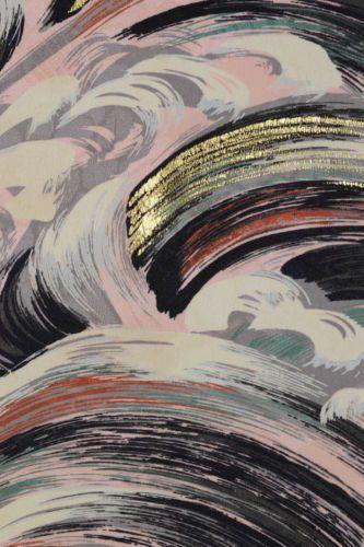 vintage silk kimono fabric