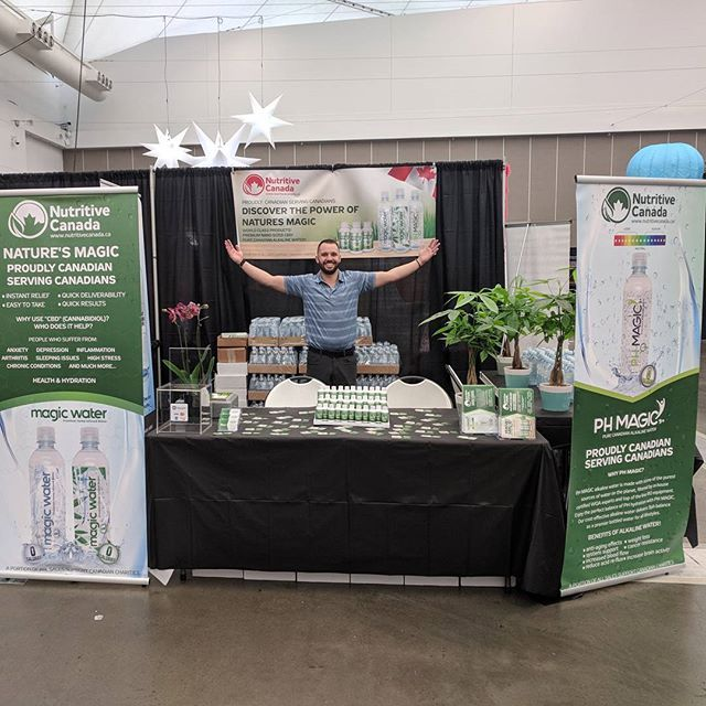 Come see us All weekend at the Vancouver Convention Center!  Taboo Trade Show   See what the Magic is all about!  #hemp #cbd #taboo #taboosexshow #cbdwater #magicshots #magicwater #nutritivecanada #cbdmagic #hempworx #canada #vancouver #conventioncenter #vancity #vancitybuzz #tradeshow #bc #Canada