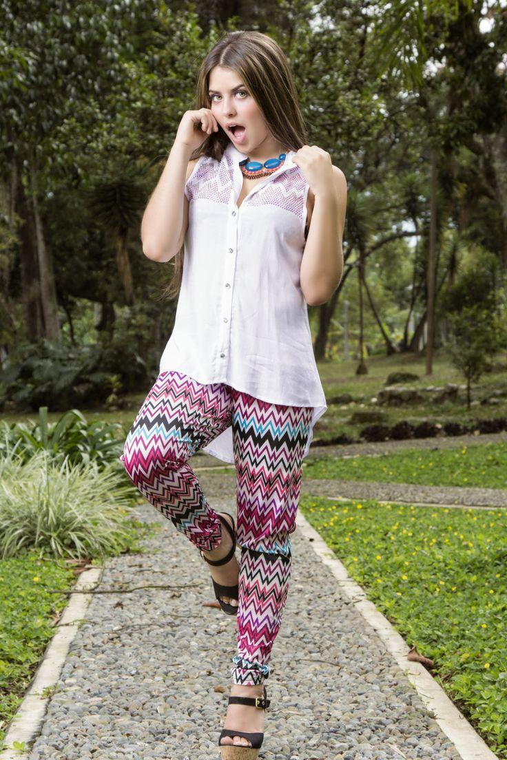 Disfruta usar prendas que te hagan ver muy #trendy.