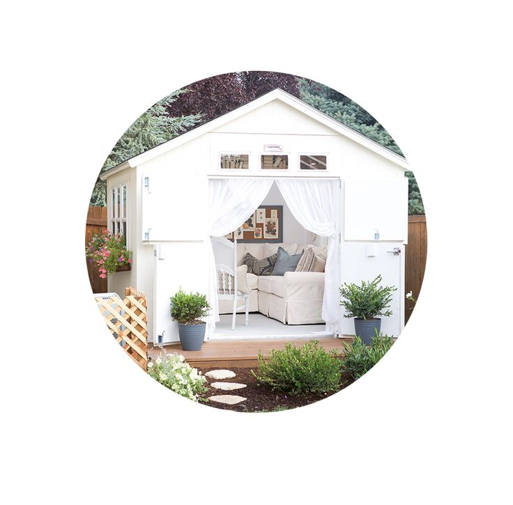 One of the things that I loved about my She Shed was the light and bright windows and I knew that I wanted to build window boxes to accentuate them and dress them up. It was actually a super quick,easy, and inexpensive project that I think made a big impact on the look and feel...Read More »