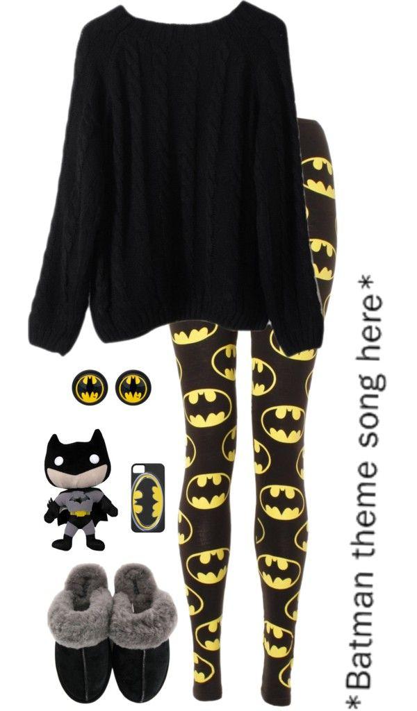 """Batman Sheittttt!"" by ashleyangelbite ❤ liked on Polyvore"