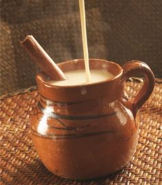 Atole de canela. - Probably the closest recipe I'll find to make like mi abuela, but not the same.
