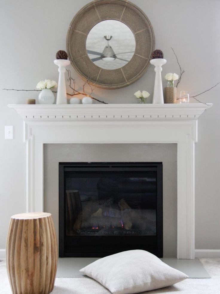 die besten 25 kaminsims dekorationen ideen auf pinterest. Black Bedroom Furniture Sets. Home Design Ideas
