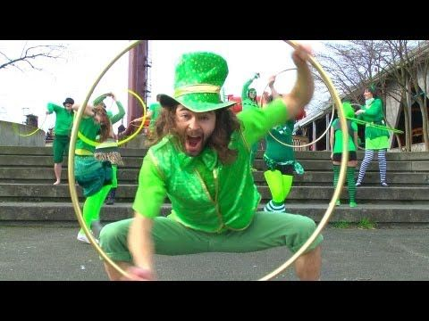 A Hula Hoopy Saint Patrick's Day Hula Hoop Dance (Featuring Seattle Hoopers) - YouTube