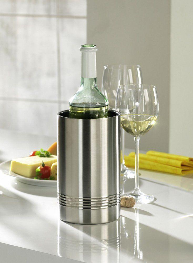 Chladič na láhve Senator moderního designu pod značkou Emsa má optimální výkon chlazení. Nádoba o rozměru 11×20 cm je vyrobena z vysoce kvalitní nerezové oceli.