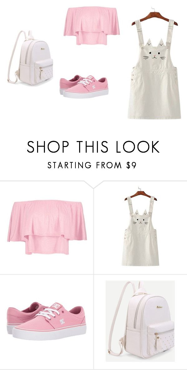 """""""cat"""" by ottoca on Polyvore featuring Boohoo and DC Shoes"""
