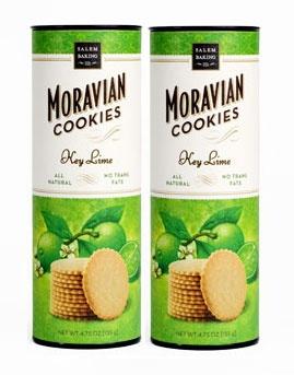 Key Lime Moravian Cookies.  O. M. G.