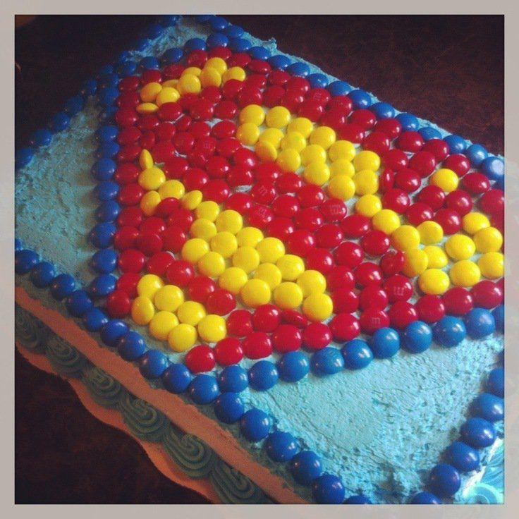 Ideas para #decoración de #fiesta infantil de superman
