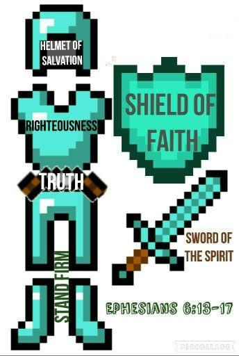 Minecraft Armor of God