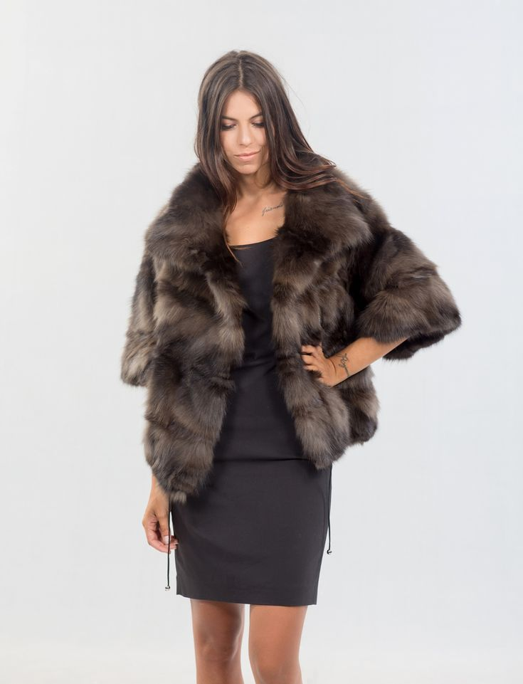 Russian Sable Long Hair Jacket     #russian #sable ##sable #шуба #style #fur #style #fashion #elegant #luxury #model #woman #outfit