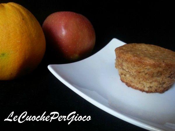 Tortini+mela+cannella+e+arancia,+dolce+senza+latticini!