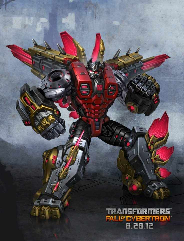 New Fall of Cybertron Game 8/28