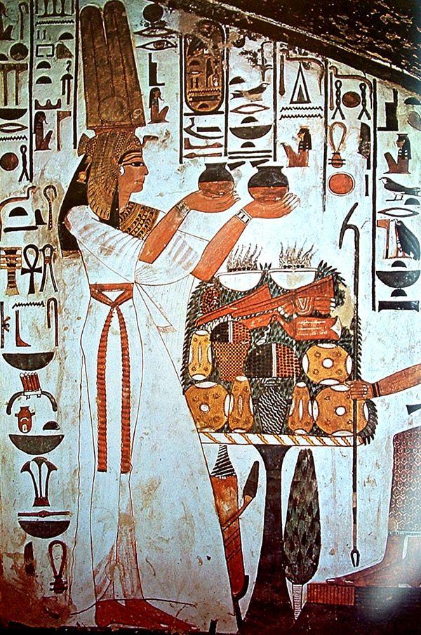 Reina Nefertari- Arte Egipcio