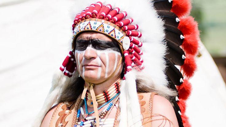 Indumentaria de indio nativo de Estados Unidos