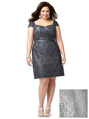 Dress barn plus size dessy dresses