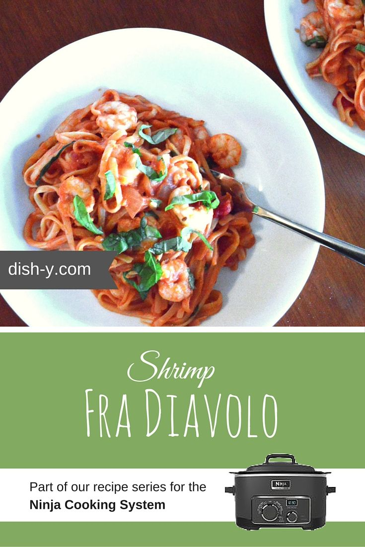 Ninja cooking system recipes - Here S A Spicy Recipe For Shrimp Fra Diavolo No Draining Required When You Cook An