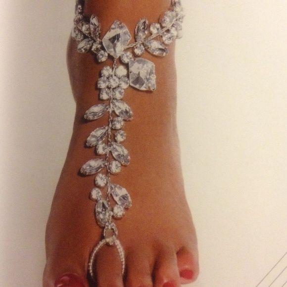 "Foot Jewelry Happy Feet ""Bling"" Traci Lynn Jewelry"
