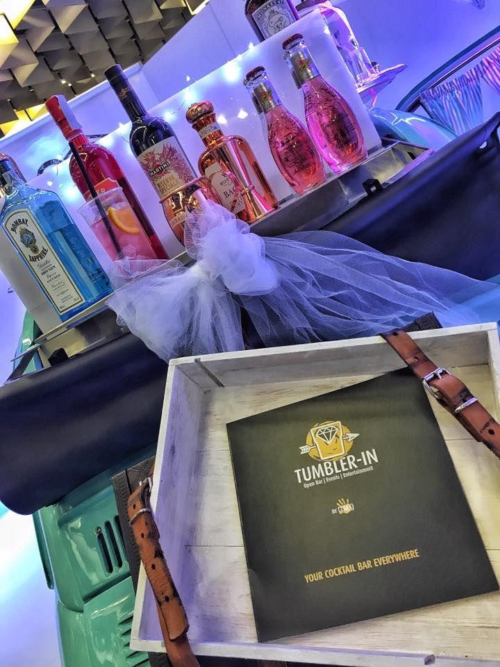 wedding party, wedding bar, wedding cocktail, miss 500, tumbler-in