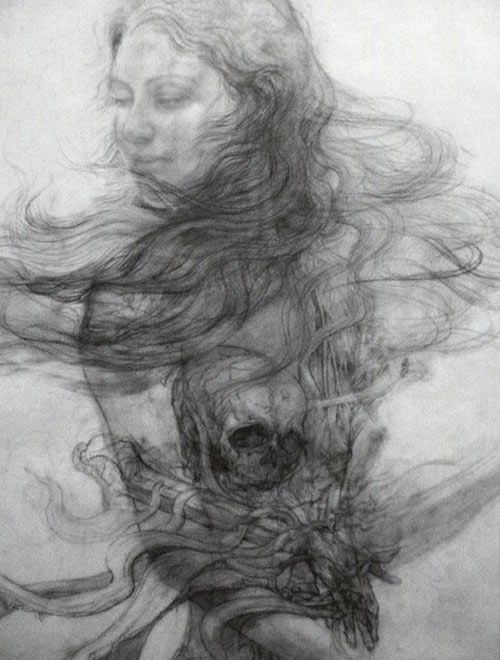 Matsui Fuyuko Drawings