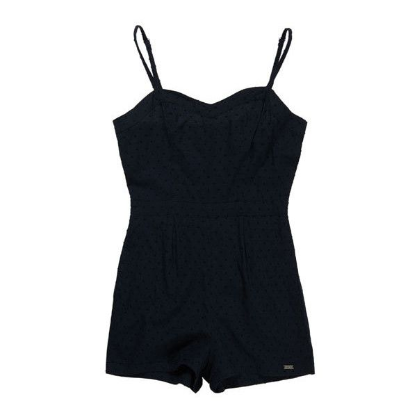 Superdry 50s Swiss Playsuit found on Polyvore