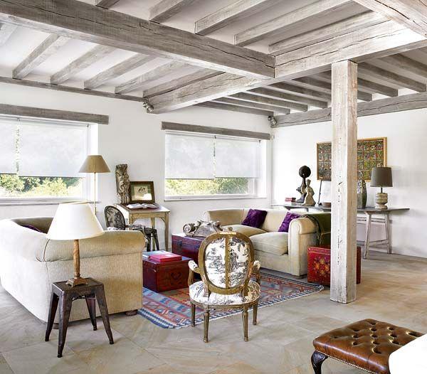 les 25 meilleures id es de la cat gorie poutre plafonds. Black Bedroom Furniture Sets. Home Design Ideas