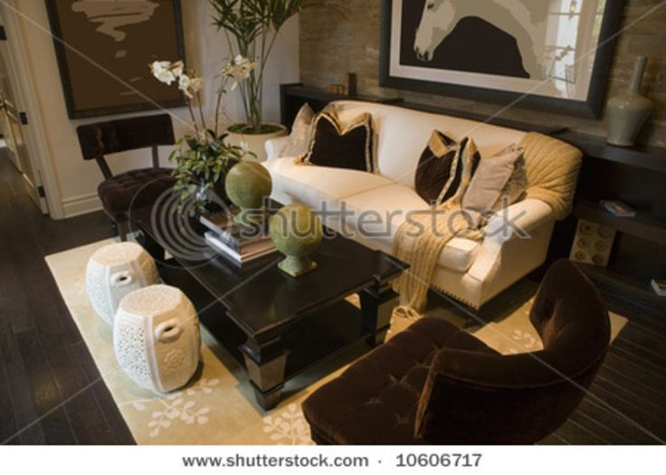 182 best Home images on Pinterest Living room ideas, Live and Spaces - black white and gold living room ideas