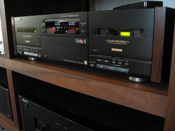 Sony TC-WR901ES TOTL Tape Deck. Back when Analog was king! This deck is part of my personal collection....