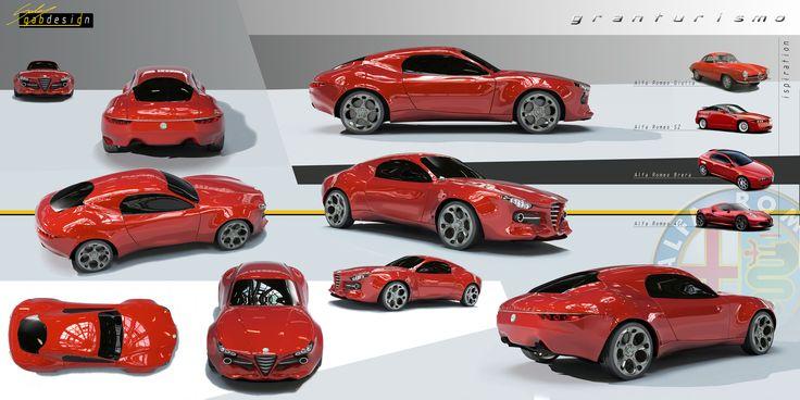 Alfa Romeo granturismo by Gabriele Longo