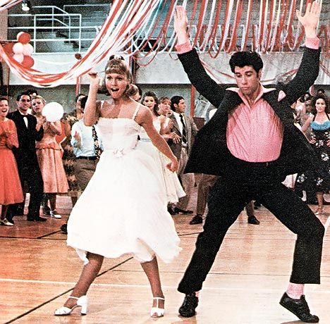 Grease! My hubby ask me to be his girl on the way to this movie 36 years ago...(pin this 2015)