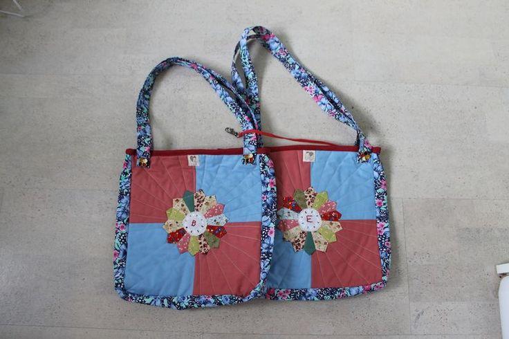 tašky pro vnučky - přední díl
