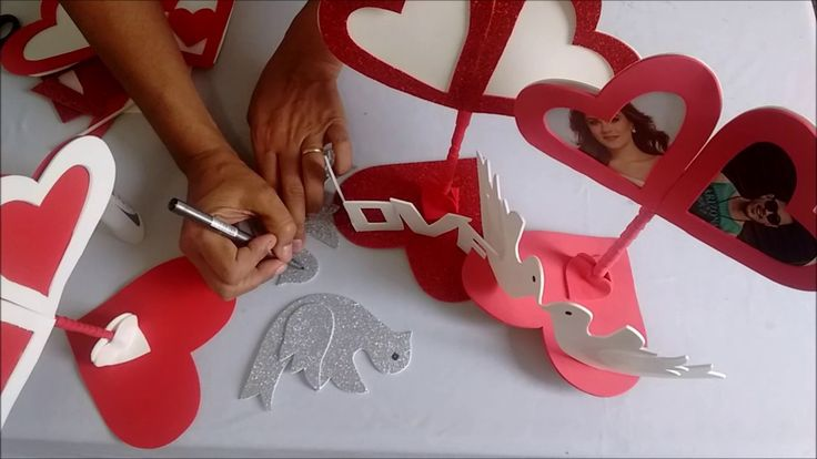 DIY: Lembrancinha Dia dos Namorados, Porta Retrato.