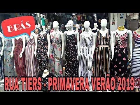 4582b0264 TOUR RUA TIERS | BRÁS | MODA PRIMAVERA VERÃO 2019 - YouTube ...
