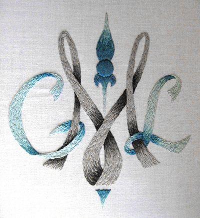 Monogram - CLM - by Valerie on Needle 'n Thread